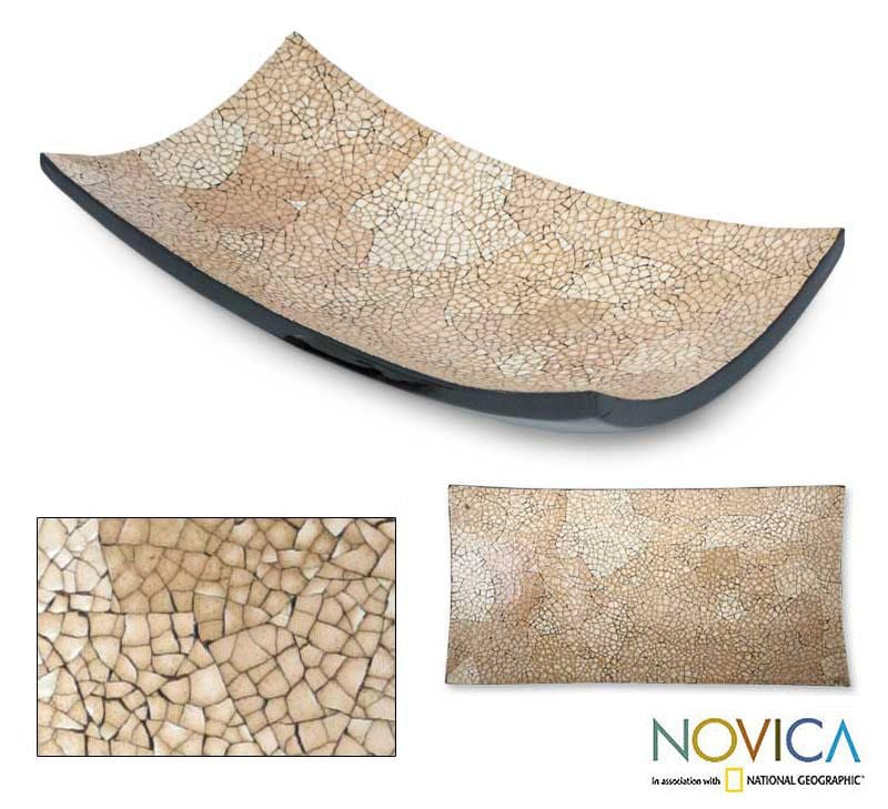 Eggshell Mosaic 'Earth Mystique' Centerpiece (Thailand)