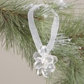 Acrylic Clear Flower Hanging Christmas Ornament (India)