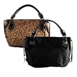 Rina Rich Leopard Print Tote Bag