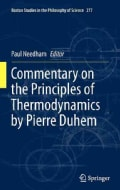 Commentary on the Principles of Thermodynamics by Pierre Duhem (Hardcover)