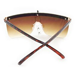 Women's F1900 Gold Rimless Sunglasses