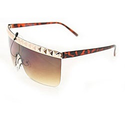 Women's F1900 Gold Rimless Sunglasses