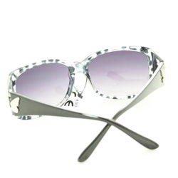 Women's P8124 Grey Leopard Fashion Sunglasses