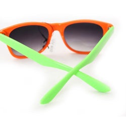 Women's 200 Orange/Green Sunglasses