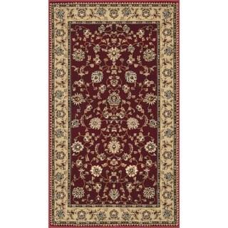 Primeval Red Oriental Rug (2'3 x 3'9)