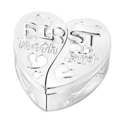 Heart Shape 1st Tooth and Curl Box
