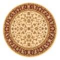 Primeval Ivory Oriental Rug (7'7 Round)