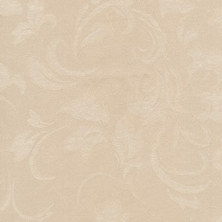 Skyline Furniture Lindsey Queen Headboard Upholstered in Parchment Damask