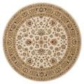 Primeval Ivory/ Beige Oriental Rug (7'7 Round)