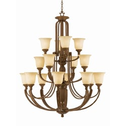 Ambassador 16-light Morrocan Bronze Chandlelier