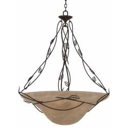Whisper 6-light Blacksmith Bronze Pendant Fixture