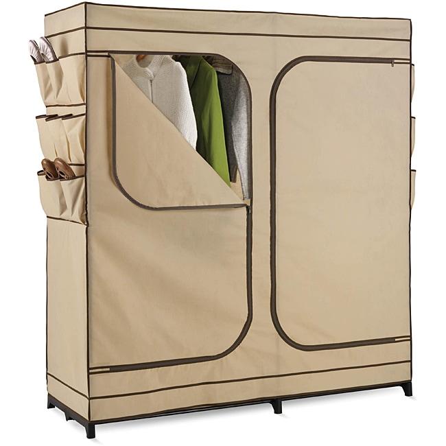 Honey Can Do WRD-01272 60-inch Storage Closet