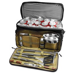 Finelife 12 Piece BBQ Kit And Cooler Bag