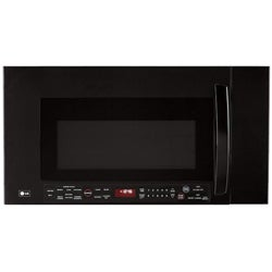 LG 2.0 Cu.Ft. 1100W Black Over-the-Range Microwave (Refurbished)
