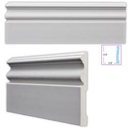 Traditional 4.75-inch Baseboard (8 pack)