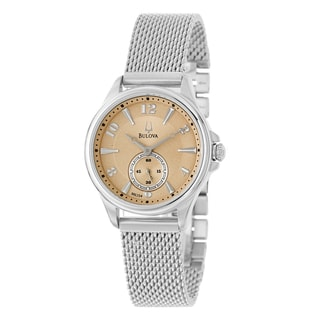 Bulova 'Adventurer' Women's Mesh Bracelet Watch