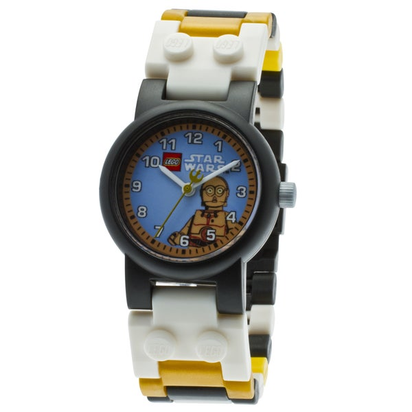 LEGO Star Wars C3PO Kid's Minifigure Interchangeable Links Watch