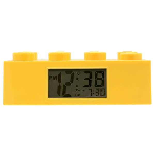 LEGO Yellow Brick Clock