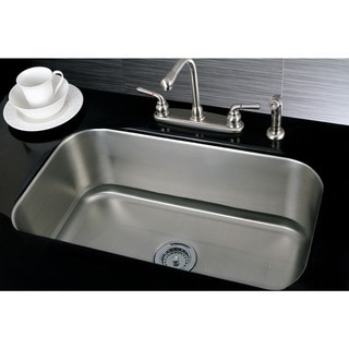 Single Bowl 30-inch Stainless Steel Undermount Kitchen Sink