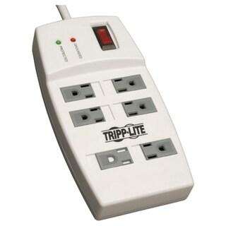 Tripp Lite Surge Protector 120V 5-15R 6 Outlet 4' Cord 540 Joule