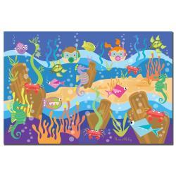 Grace Riley 'Underwater Adventures' Children's Canvas Art