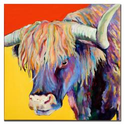 Pat Saunders-White 'Scotty' Canvas Art