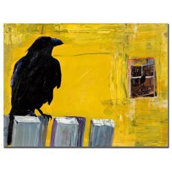 Pat Saunders-White 'Watching' Canvas Art