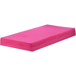 Sleep Sync Raspberry 7-inch Twin-size Memory Foam Mattress