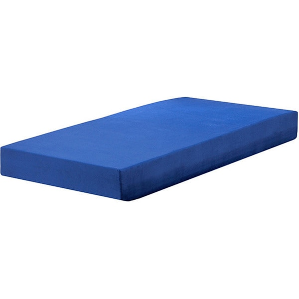 Sleep Sync Blueberry 7 Inch Twin Size Memory Foam Mattress 13348251 Shopping