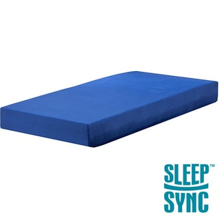 Sleep Sync Blueberry 7-inch Full-size Memory Foam Mattress