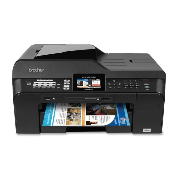 Brother MFC-J6510DW Inkjet Multifunction Printer - Color - Plain Pape