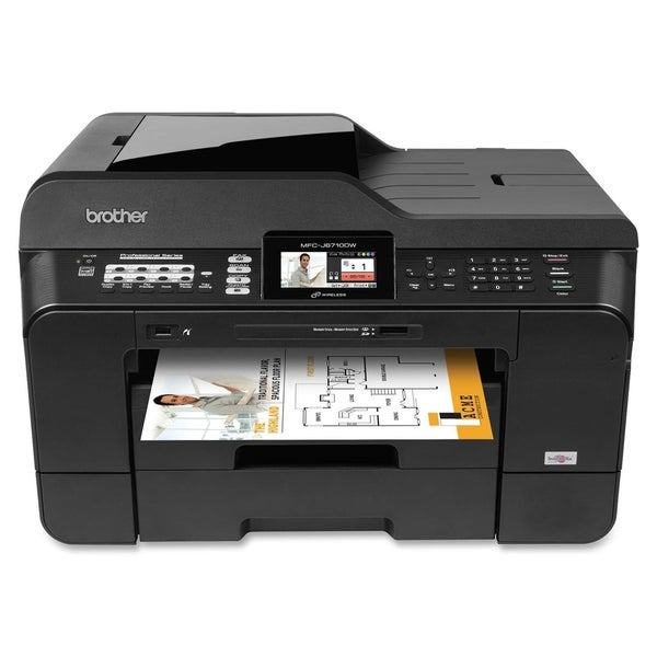 Brother MFC-J6710DW Inkjet Multifunction Printer - Color - Plain Pape