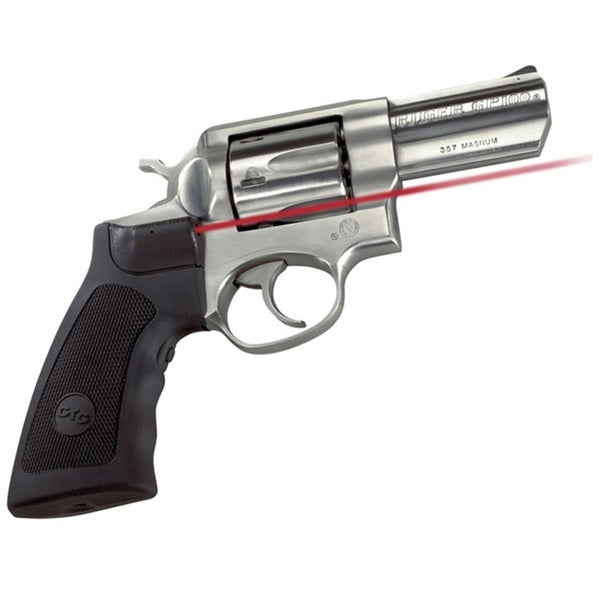 Crimson Trace GP100 and Super RedHawk Front Activation Laser Grip