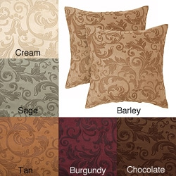 Livingston 18-inch Decorative Pillows (Set of 2)
