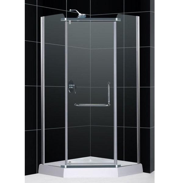 DreamLine 38-1/4 inches x 76-3/4 inches Horizon Pivot Shower Enclosure