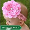 Headbandz Pink Flower and Headband
