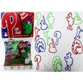 Logo Bandz 'Phillies' Characters Shaped Silicone Kids Bracelets (2 packs).