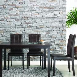 Eugene Dark Brown 5-piece Modern Dining Set