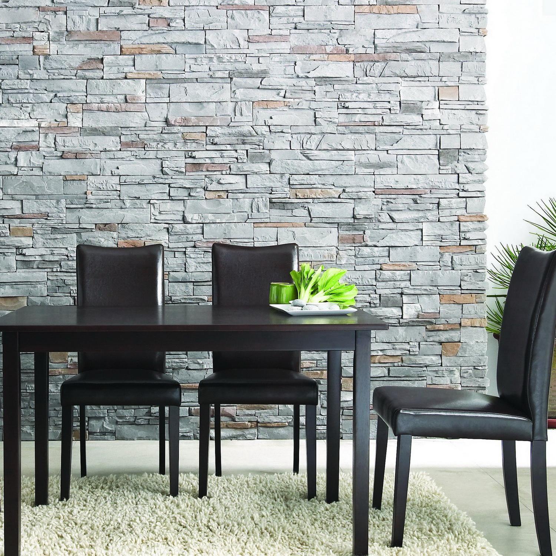 Sweden 5-piece Dark Brown Modern Dining Set
