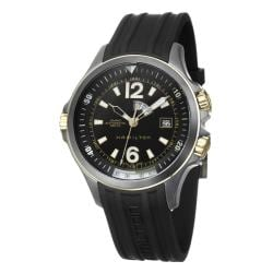 Hamilton Men's 'Khaki Navy' Black PVD Steel, Rubber Automatic Watch
