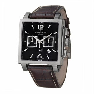 Hamilton Men's 'Jazz Master' Stainless Steel Automatic Watch