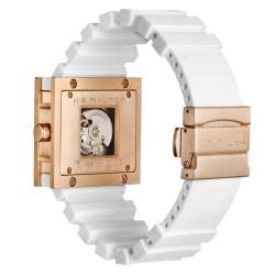 Hamilton Men's 'Khaki Action' Titanium and Leather Automatic Watch