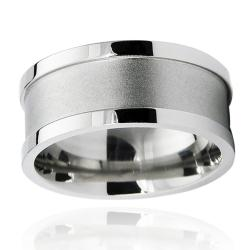Stainless Steel Men's Engraveable Fashion Ring