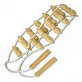 Soothera Wooden Ribbed Back Massager