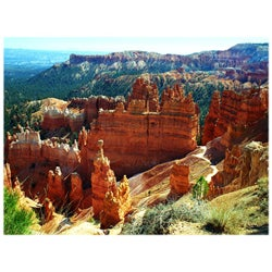 Orange Cat Art Sheri Symanski 'Bryce Canyon Wall Street' Photo Print