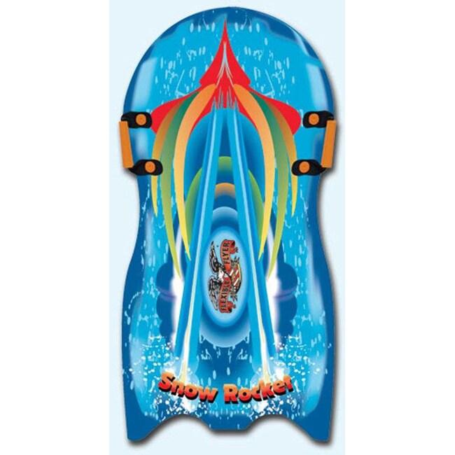Flexible Flyer Snow Rocket 36-inch Foam Slider Sled