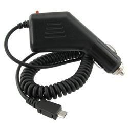 BasAcc Black Micro USB Car Charger for BlackBerry 9300 Curve 3G