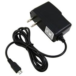 Black Micro USB Travel Charger for BlackBerry 9300 Curve 3G