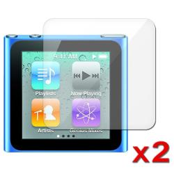 Screen Protector for Apple iPod Nano 6th Generation (Pack of 2)