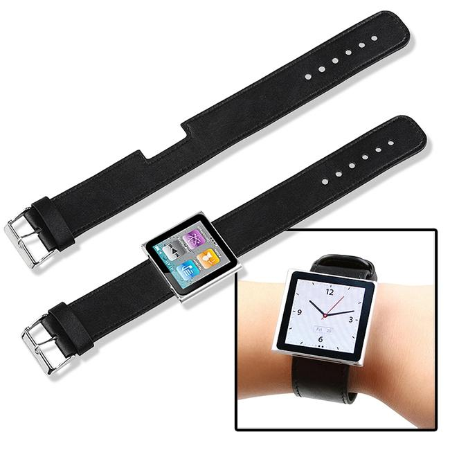 INSTEN Black Wristband for Apple iPod Nano 6th Generation